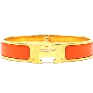 H Clic Clac Pm Hardware Bangle Cuff Bracelet